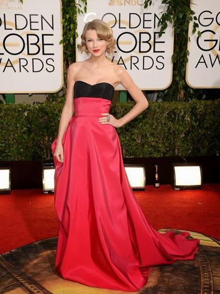 Тейлър Суифт рокля принцеса златен глобус 2014