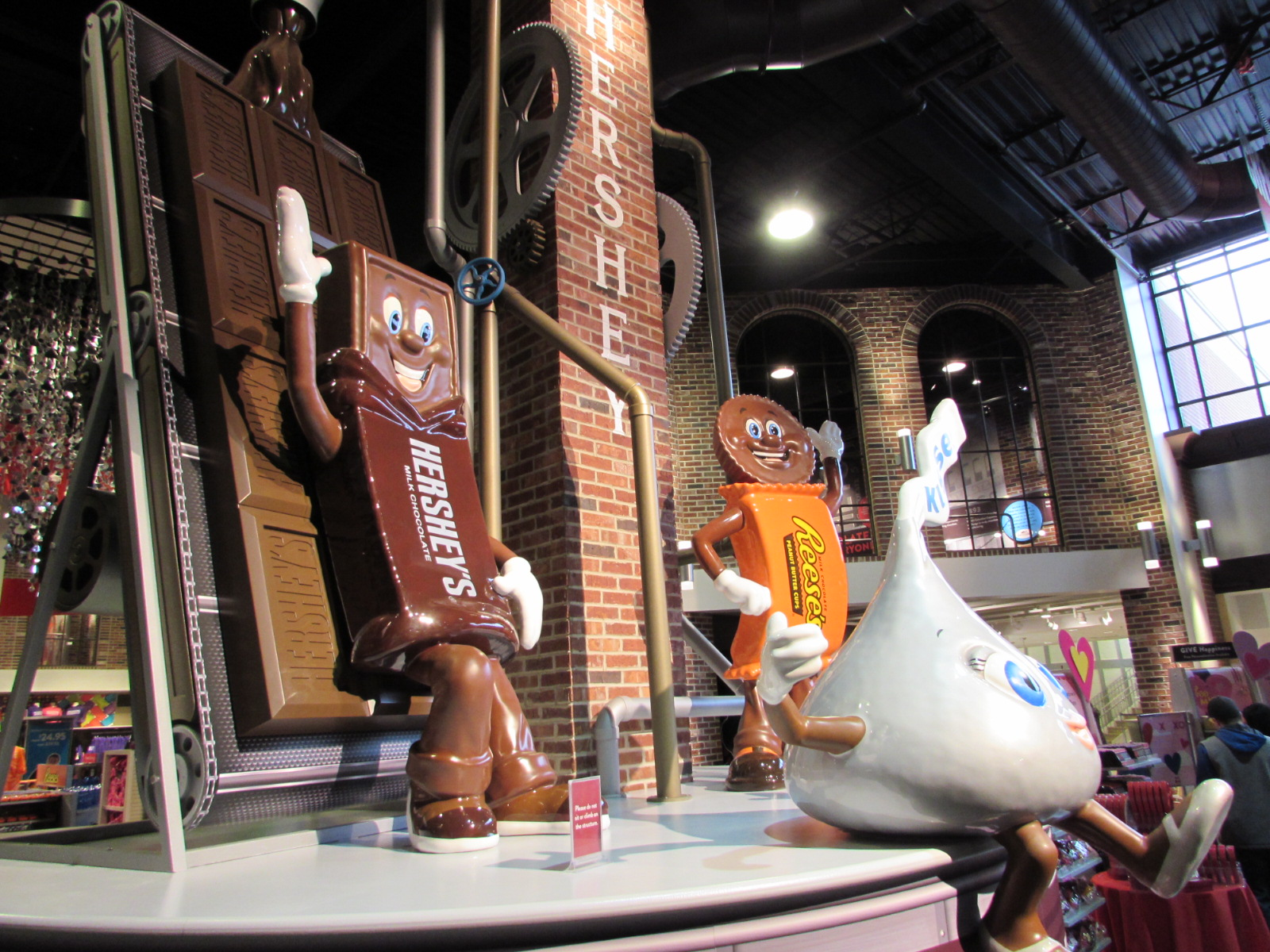 Hershey's Chocolate World, Hershey, PA, Dauphin County ...
