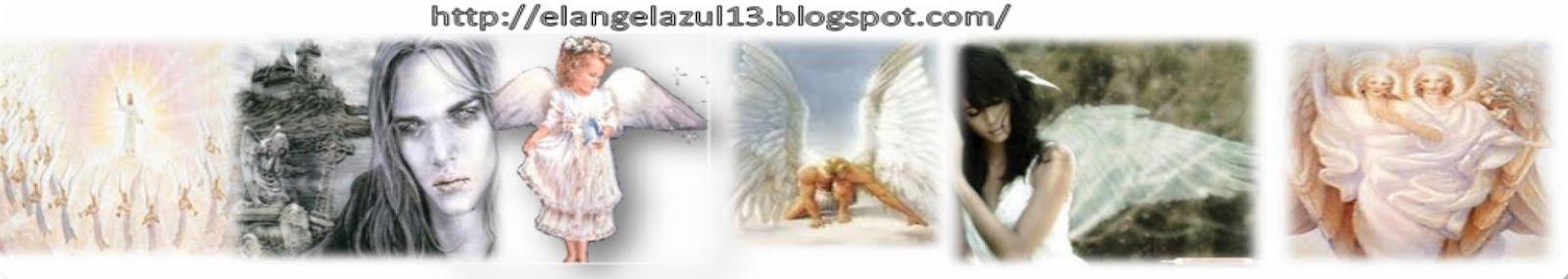EL ANGEL  AZUL