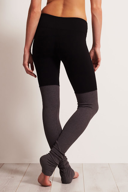 Aloyoga Goddess Legging grey black