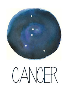 Cancer Constellation Printable from Spool and Spoon (www.spoolandspoonblog.com)