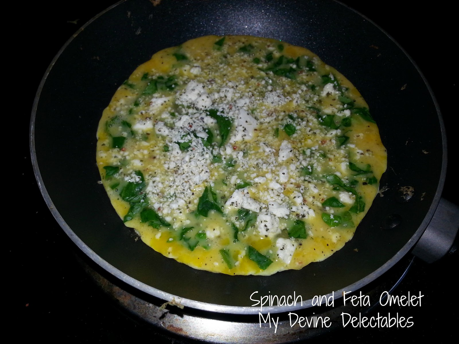 My Devine Delectables ~by Jen~: Spinach and Feta Omelet ...