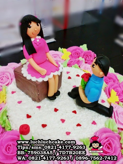 kue tart engagement daerah surabaya - sidoarjo
