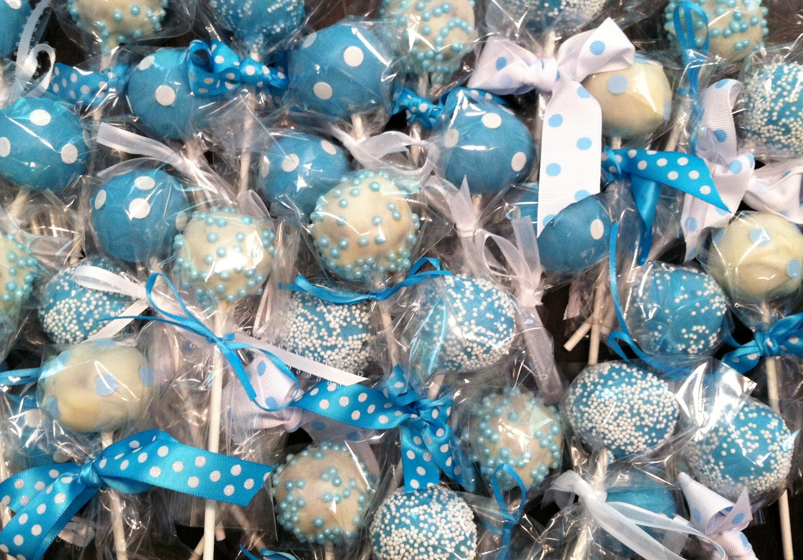 Cake Pop Designs For Christening : Ally s Cake Pop Shop!: A few more orders!