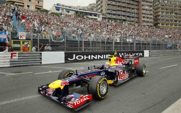 Webber pisó el acelerador y ganó en Mónaco