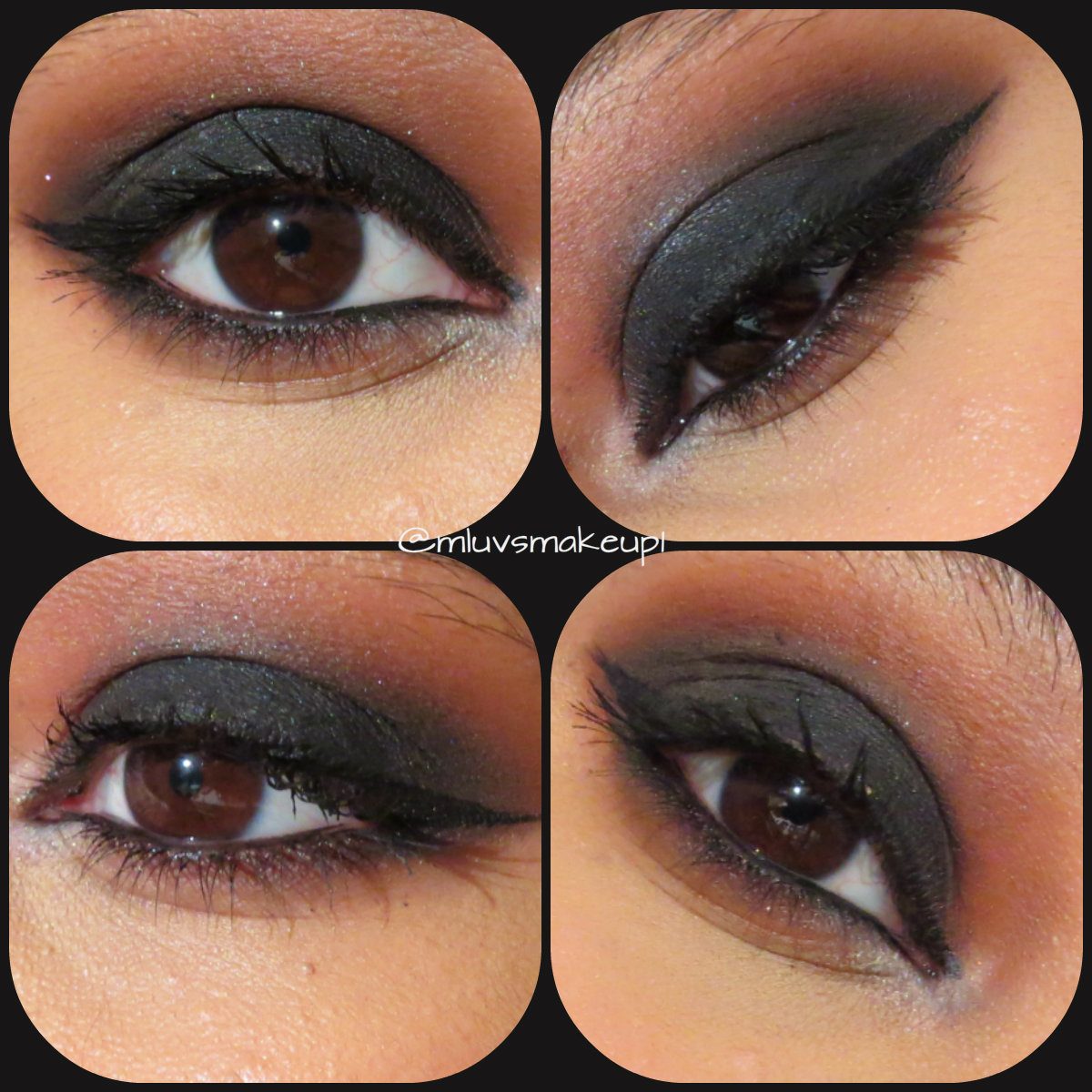 Muslimahluvsmakeup brown and black smokey eye ft kat von d shade muslimahluvsmakeup brown and black smokey eye ft kat von d shade and light eye contour palette baditri Gallery