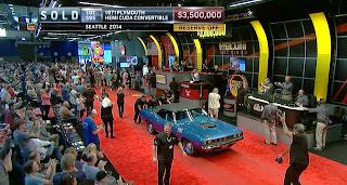 1971 Plymouth Hemi Cuda Convertible Laku 3.5 Juta Dolar Di Lelang Mobil