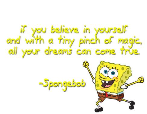 Kata Kata Bijak Spongebob Squarepants terbaik dalam bahasa inggris dan artinya