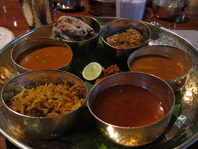 Thali at Konkan Cafe Mumbai