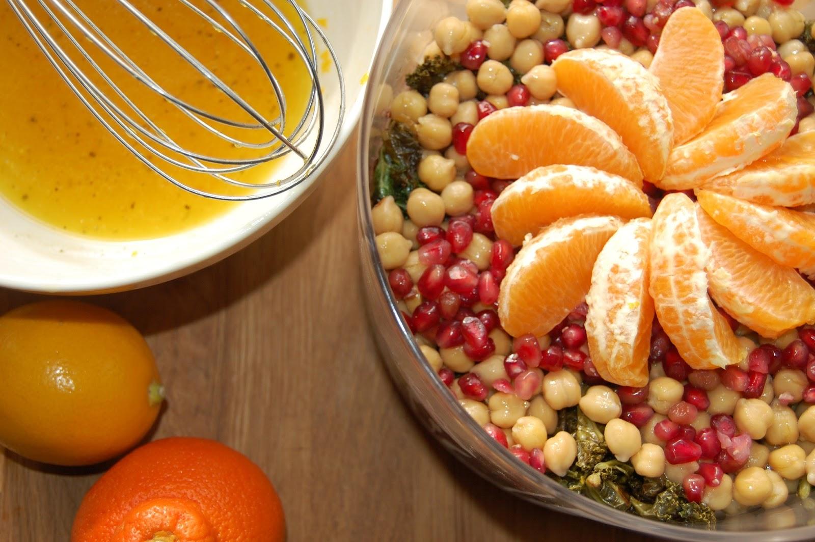 Citrus, Quinoa and Kale Salad with Meyer Lemon Vinaigrette ...