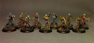 Warzone Resurrection - Undead Legionnaires - Dark legion - Algeroth - front