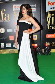 Actress Adah Sharma Pictures in Shoulderless Long Dress at IIFA Awards 2016  25282