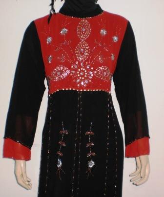 Gamis Pesta Gp038a Cantik Grosir Baju Muslim Murah Tanah