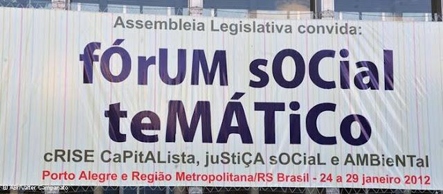 Brasil: Fórum Social Temático discutiu tópicos para a conferência Rio+20