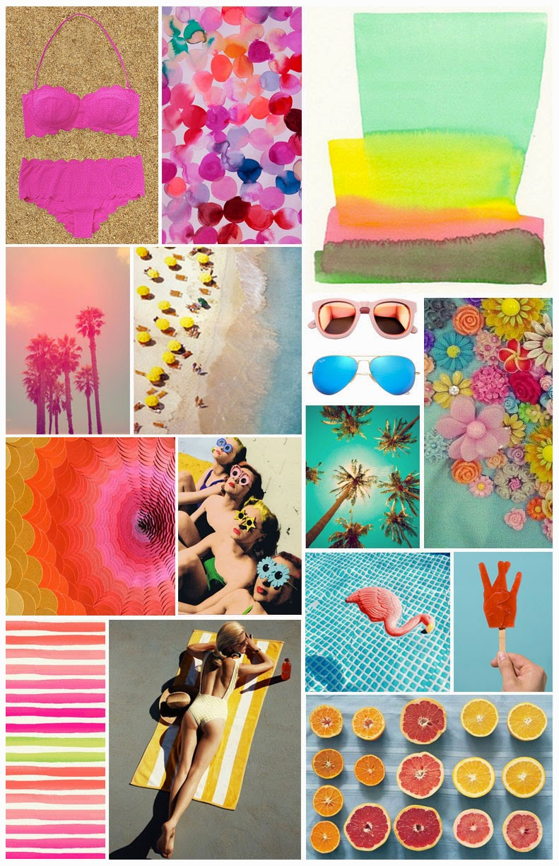 summer-inspiration, sample-fashion-project, sample-mood-board