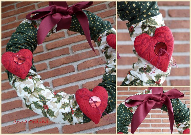 Patchwork en casa patchwork with love tutorial adornos - Adornos navidenos paso a paso ...