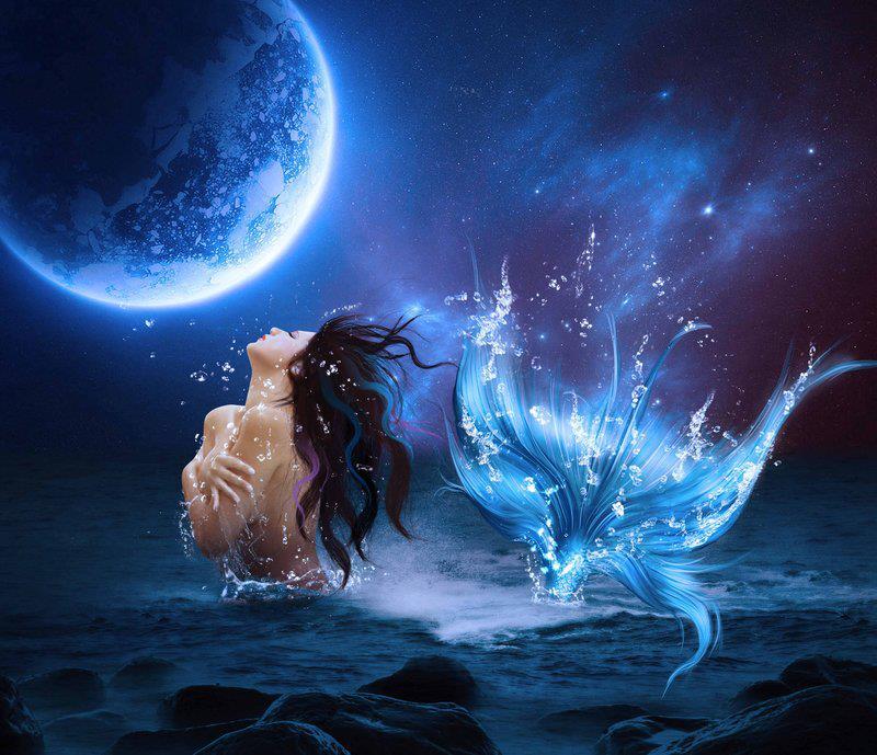 La Luna y la Sirena