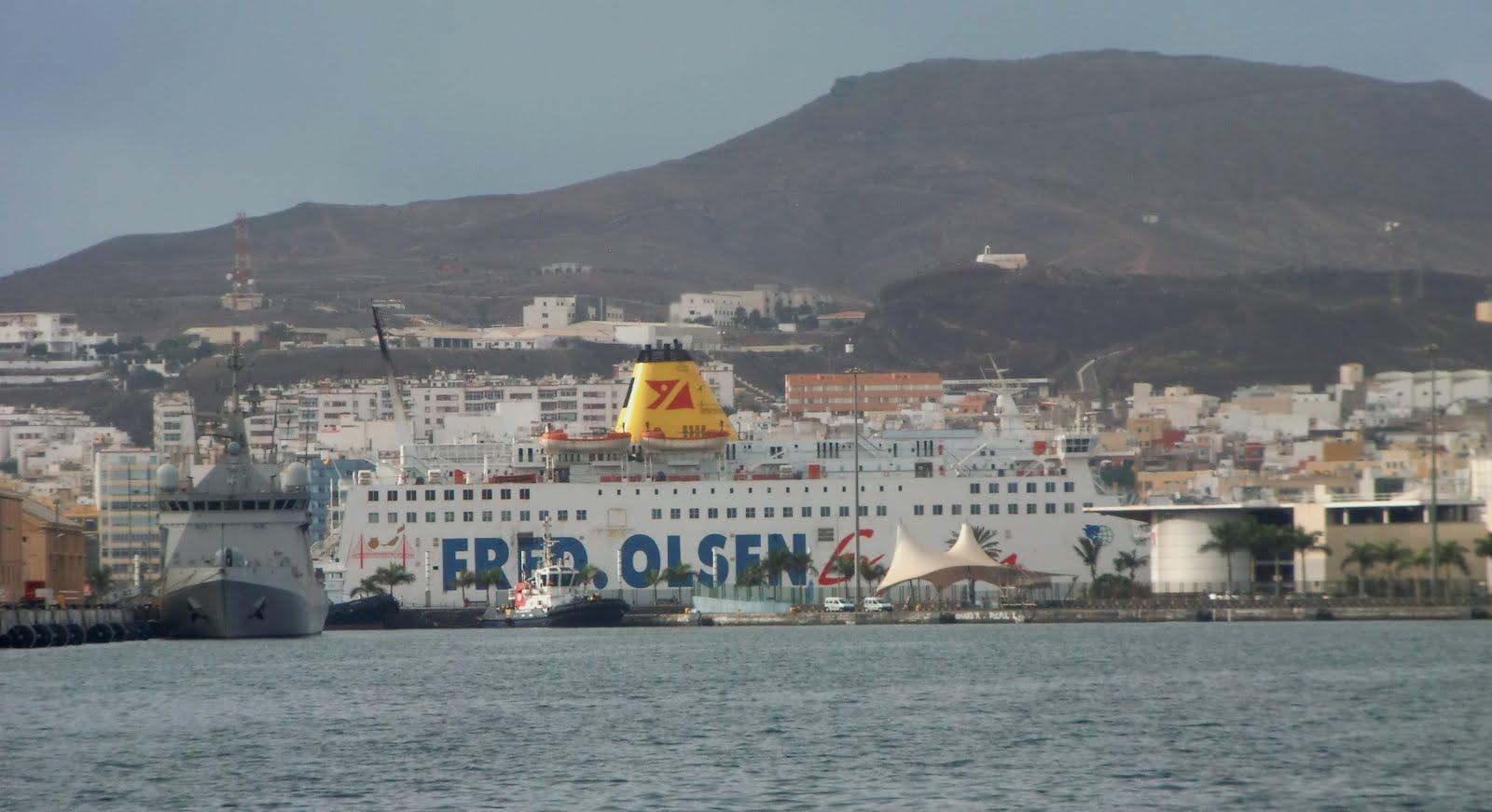 Islas canarias fred olsen express fast ferry ruta las for Oficina fred olsen santa catalina