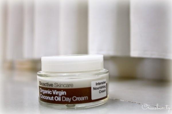 Hidratante facial con aceite de coco de Dr. Organics