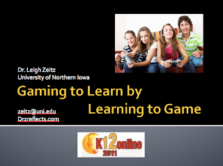 Gaming to Learn by Learning to Game opening page