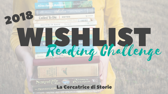2018 Wishlist reading challenge