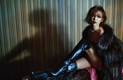 Ga In Brown Eyed Girls - W Magazine January Issue 2014