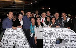 Américo Zúñiga, un alcalde cercano a los jóvenes