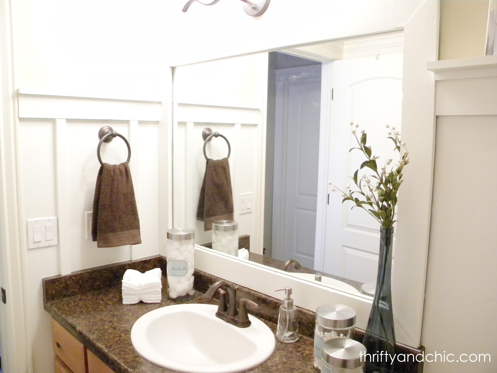 Thrifty and chic diy projects and home decor for Bathroom design board