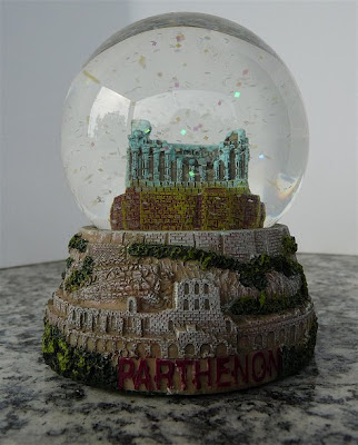 0024 Palle di neve - Boule à neige - Snow globe (GREECE)