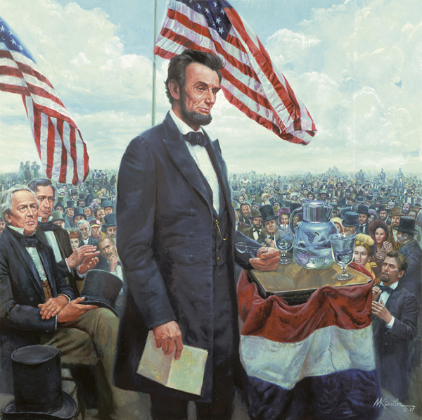juxtaposition and antithesis in the gettysburg address Antithesis is opposition, or a contrast of ideas or words in a gettysburg address explanations of the rhetorical devices are on the next page.