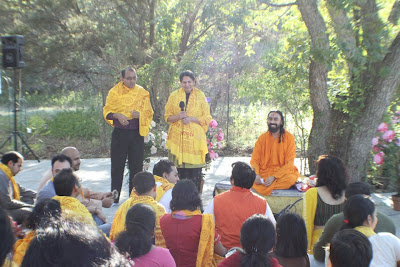 Divali retreat with Swami Mukundananda, senior disciple of Jagadguru Kripaluji Maharaj