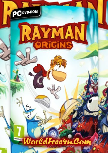 Cover Of Rayman Origins Full Latest Version PC Game Free Download Mediafire Links At worldfree4u.com