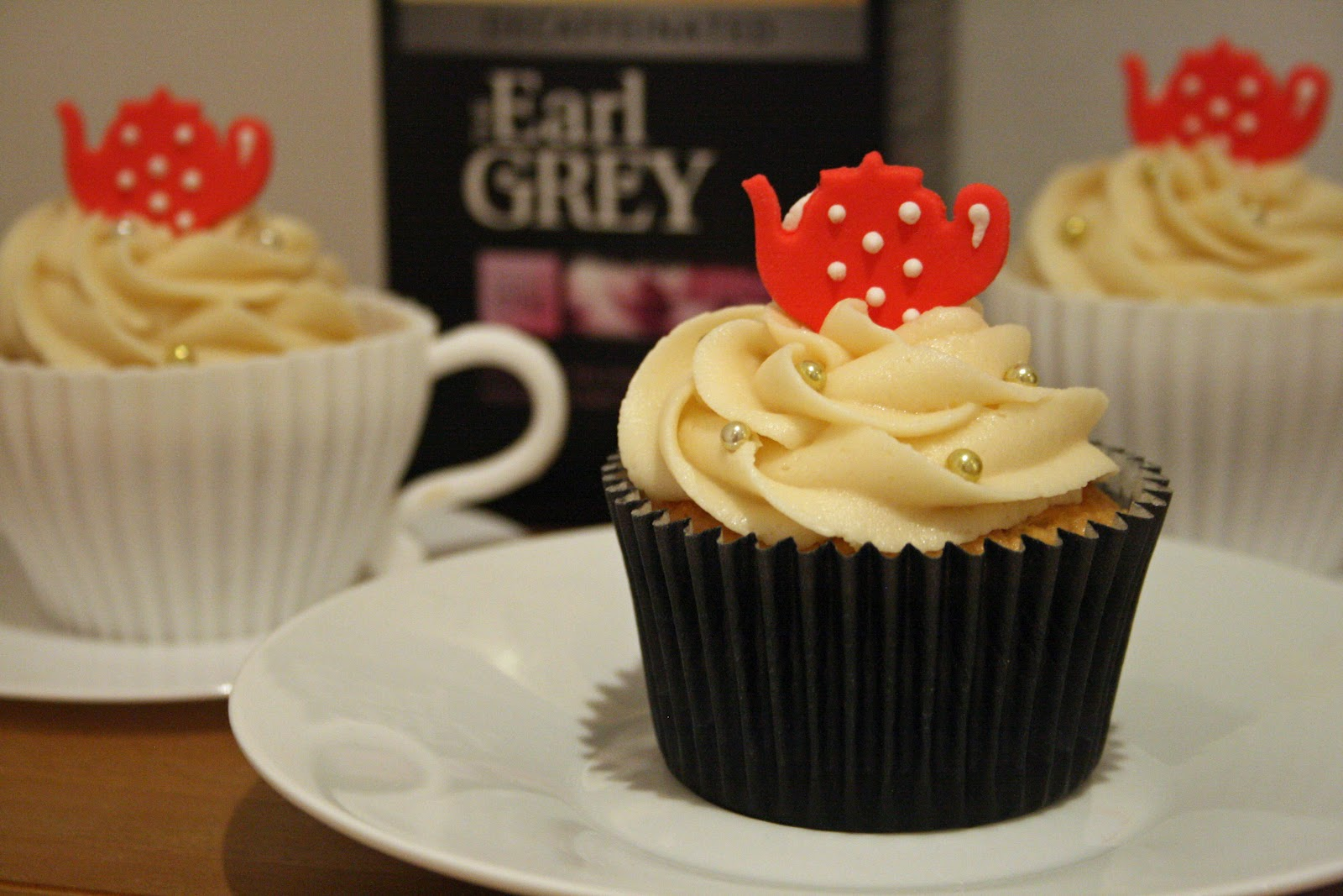 Earl Gray Cupcakes