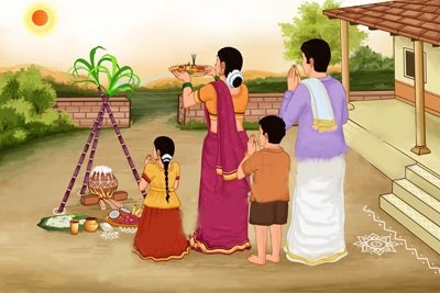 Thai Pongal' the Harvest Festival of Tamils | dbsjeyaraj.com
