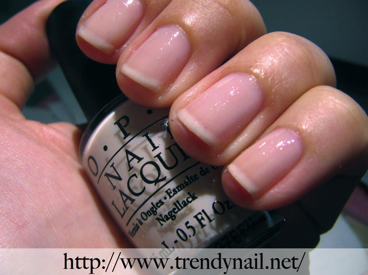 French manicure su unghie corte tutto con un solo smalto