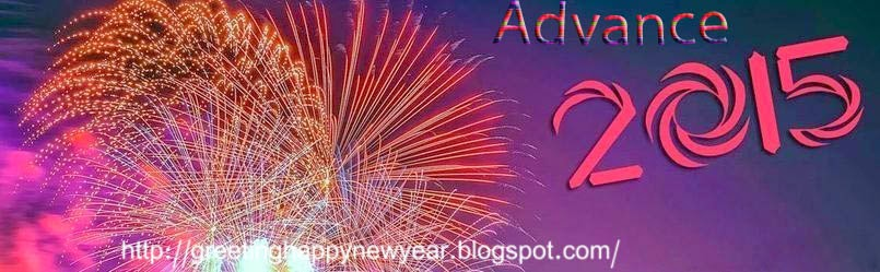 Happy New Year 2015 HD Advance Wallpaper Free Download