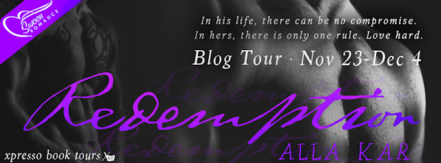 Blog Tour: Redemption by Alla Kar