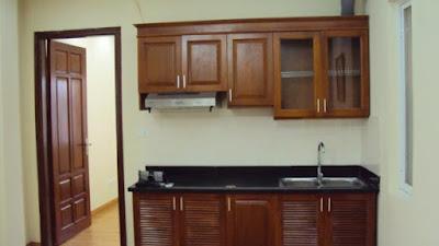 Tủ bếp chung cư mini Trung Văn