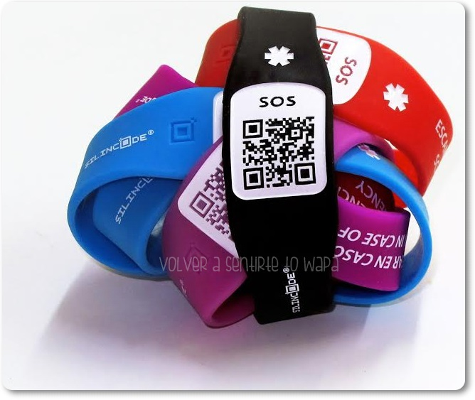 Pulsera SiliconCode SOS de Omega Pharma