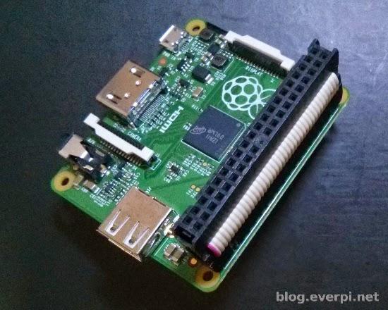 Conector no Raspberry Pi A+