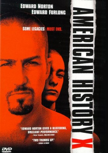 American History X , Poster, Directed by Tony Kaye, Starring Edward Norton