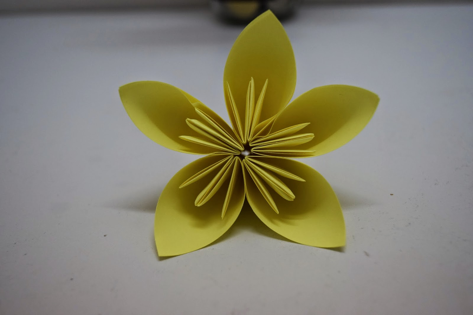 Keriitleto real diy how to make kudusama origami flower updated im so passionate doing this so i end up make four of ithaha mightylinksfo