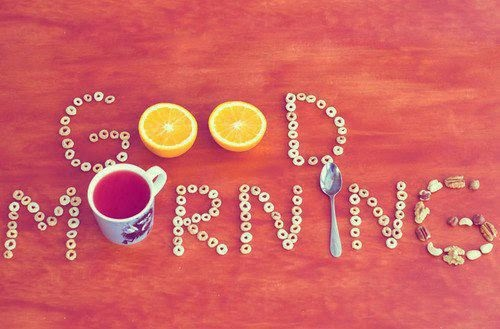 Ảnh chào buổi sáng chào ngày mới cùng những lời chúc hay