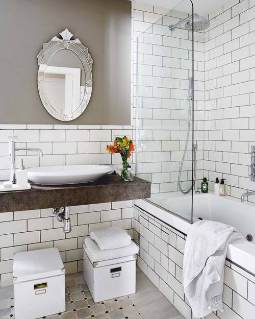 White Kitchen Tiles Grey Grout: Prairie Perch: Amped Up Subway Tiles
