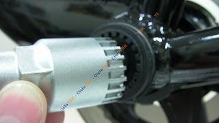 Sensor - Montaje del sensor de pedaleo  PAS SANY0236