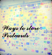 Ways to Store Postcards !