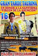 Eduardo Valenzuela, anunciado en Laramate, el 16/08