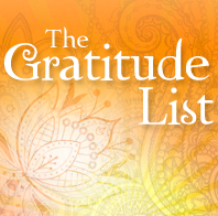 The Gratitude List