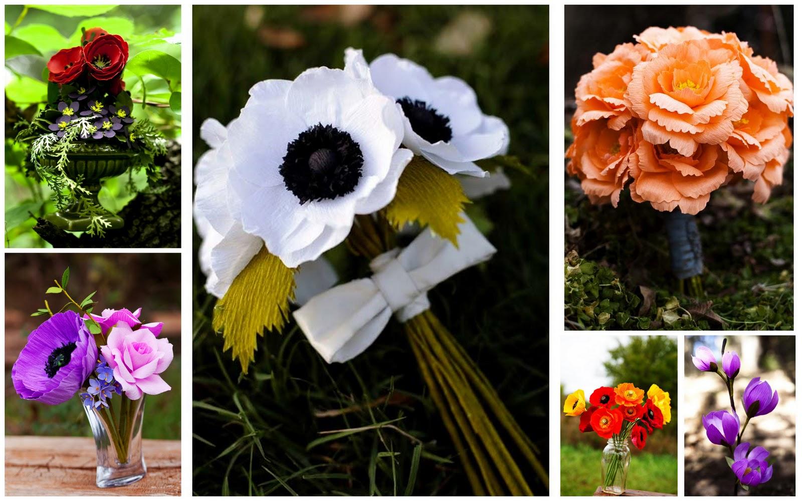 Grosgrain wedding paper flowers vs real flowers real flowers december 12 2011 mightylinksfo