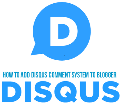 Disqus Commenting System to Blogger